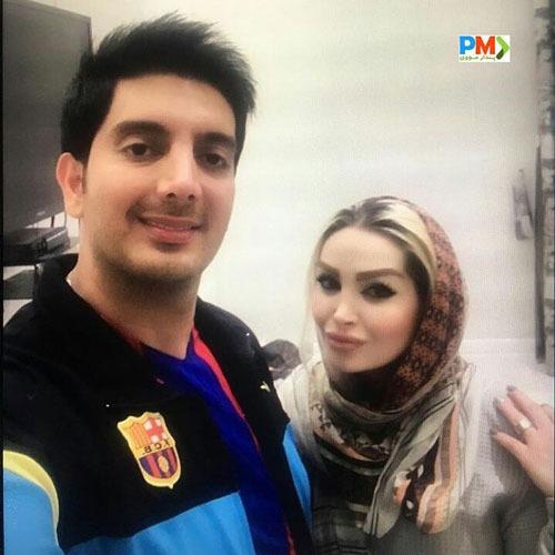 ازدواج و همسر فرزاد فرزین