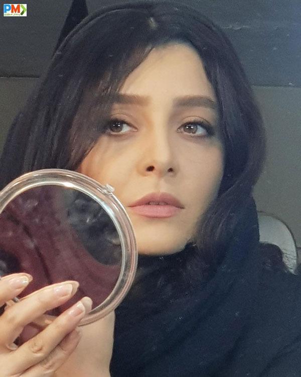 ساره بیات بازیگر نقش رستا در سریال دل