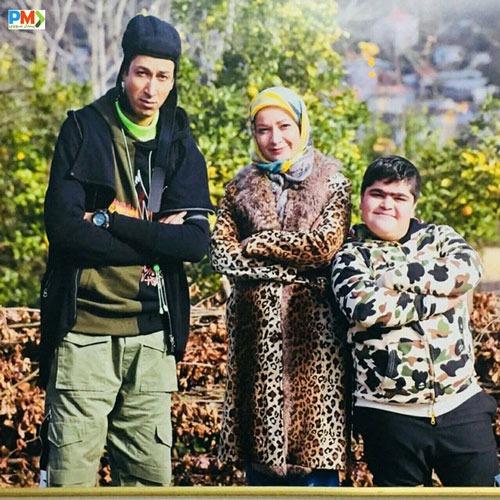 نسرین نصرتی و بهرام افشار در سریال پایتخت