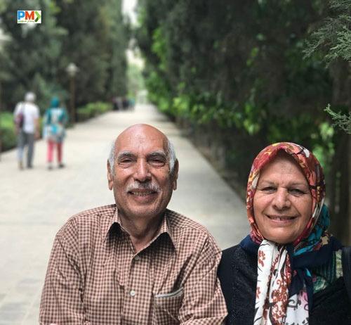 پدر و مادر محمد بحرانی