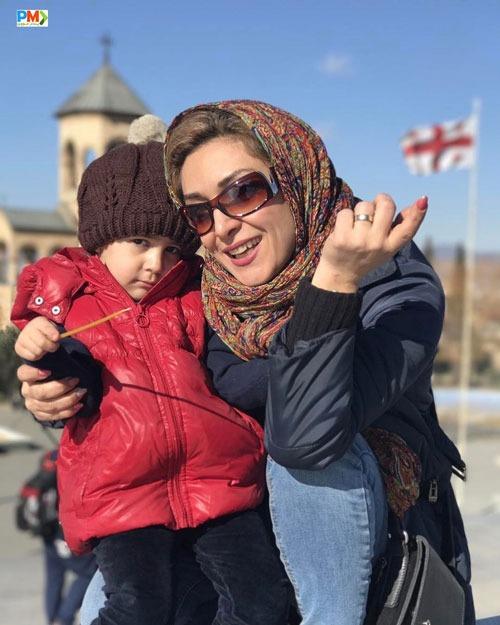 همسر و دختر آرش مجیدی
