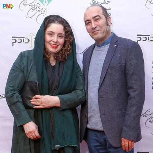 ژاله صامتی و همسرش