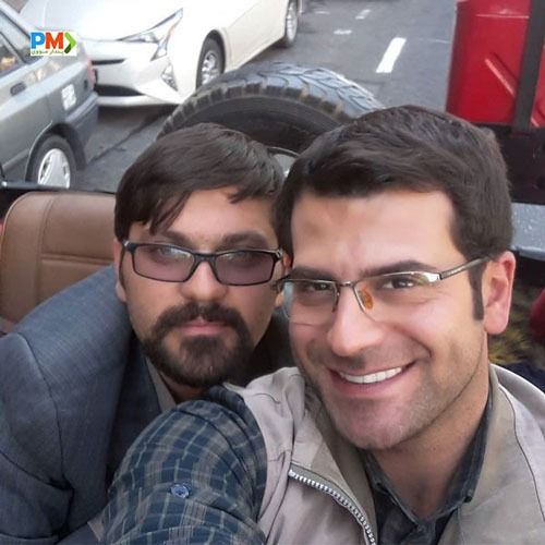 محمود خسرومنش و روزبه حصاری در سریال بچه مهندس 3