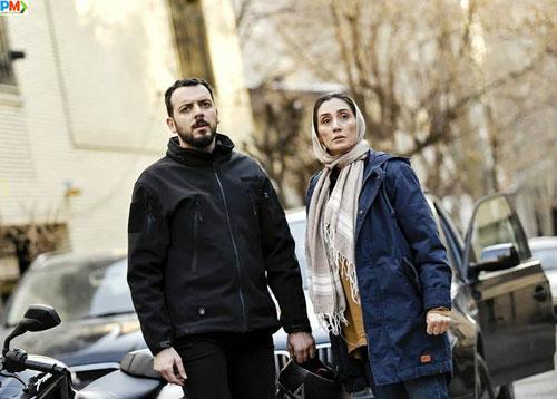 هدیه تهرانی بازیگر نقش زیبا در سریال هم گناه
