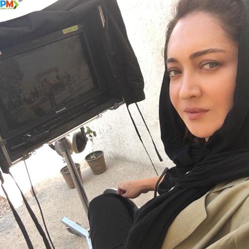 نیکی کریمی بازیگر نقش تینا در سریال آقازاده