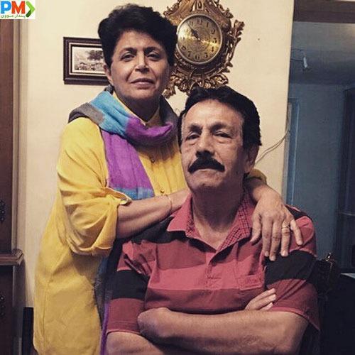 عکس پدر و مادر مهرزاد جعفری