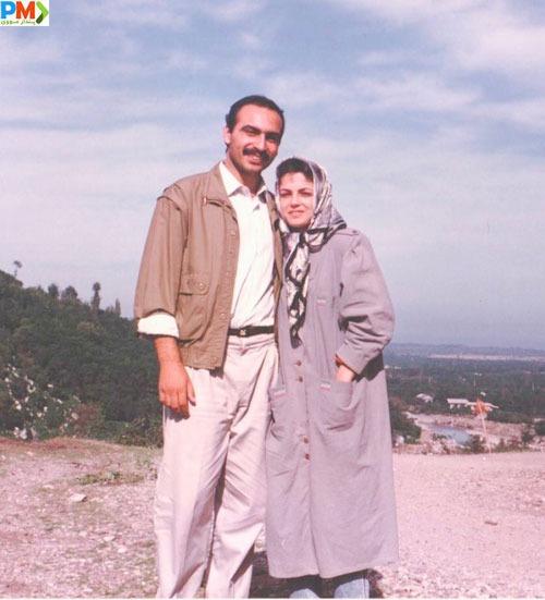 عکس قدیمی از پدر و مادر نیلوفر کوخانی