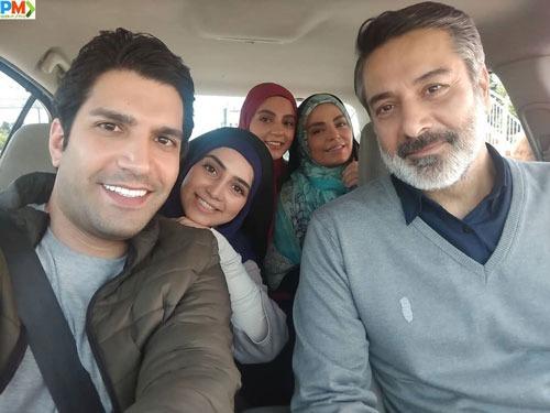 روژین رحیمی طهرانی بازیگر نقش فرشته در سریال خانه