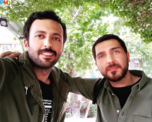 حسام محمودی بازیگر سریال باخانمان
