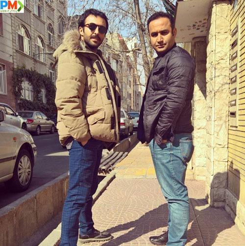 حسام محمودی و نوید محمودی