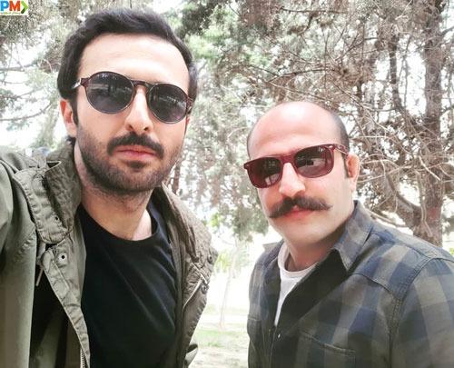حسام محمودی در سریال باخانمان