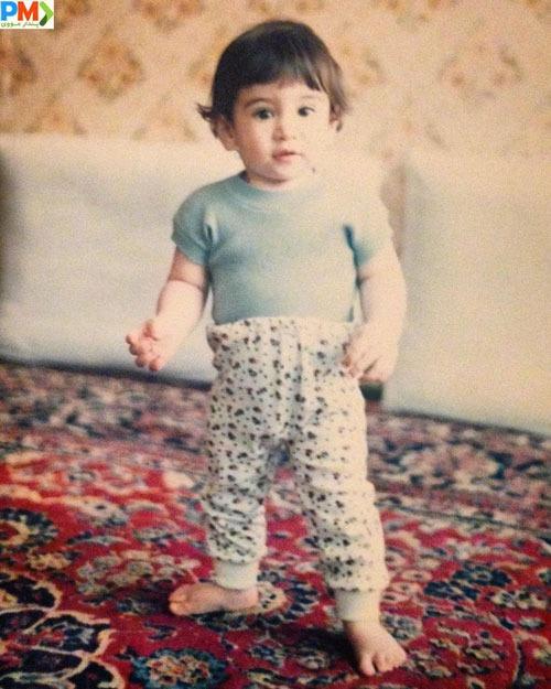 کودکی هوتن شکیبا