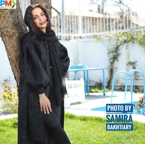 مارال فرجاد بازیگر نقش سمانه در سریال باخانمان