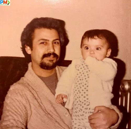 کودکی مارال فرجاد و پدرش