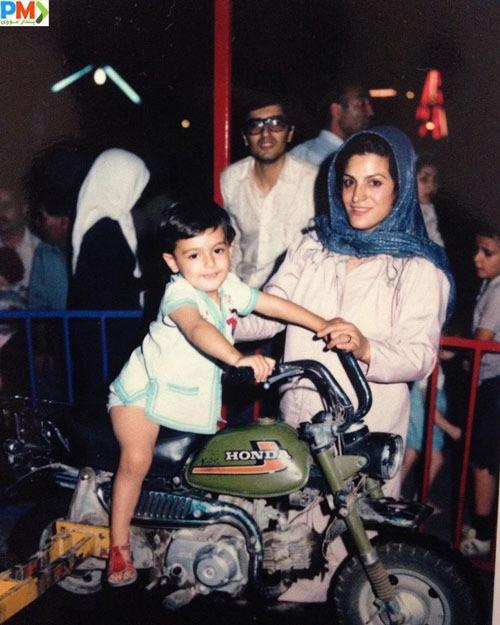 عکس قدیمی محمدرضا رهبری و مادر و پدرش