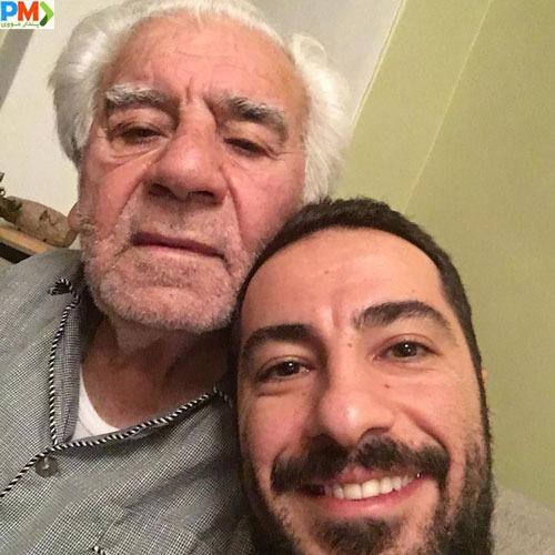 نوید محمدزاده و پدرش