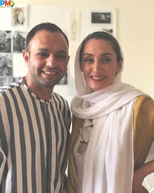 صابر ابر و هدیه تهرانی