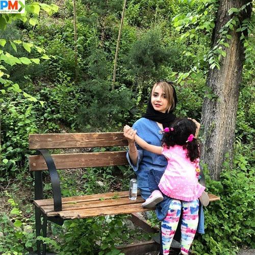 شبنم قلی خانی و دخترش شانا