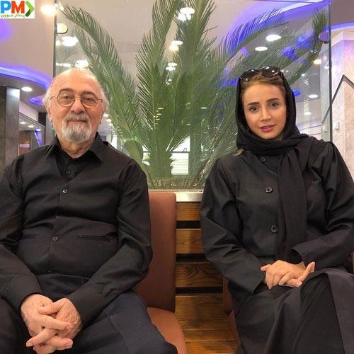 شبنم قلی خانی و مرحوم پرویز پورحسینی