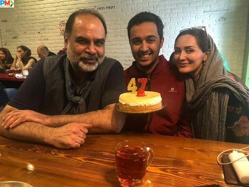 یسنا میرطهماسب با پدر و مادرش