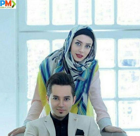 شهنام شهابی و همسرش سوفیا رستمیان