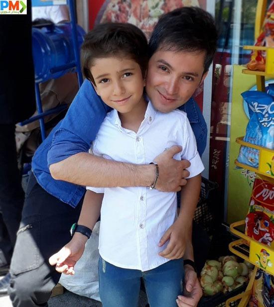 شهنام شهابی بازیگر نقش امیرعلی در بیگانه ای با من است