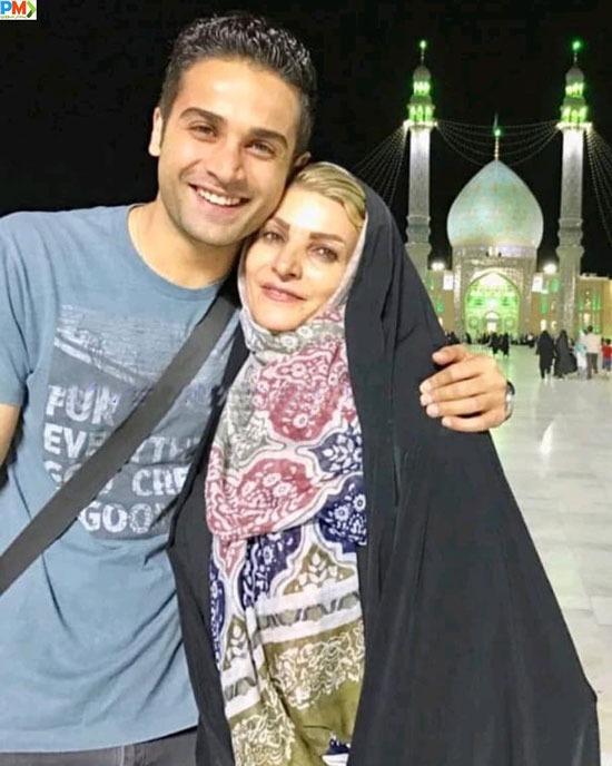 آرمان درویش و مادرش شهناز نصرتی