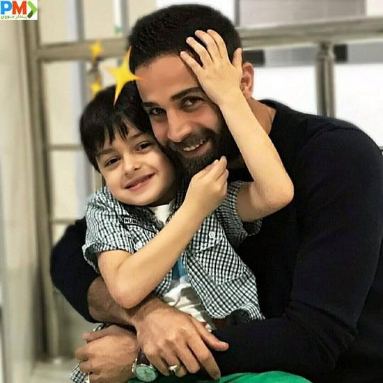آرمان درویش و پسر شهاب حسینی