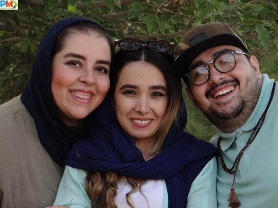 مهناز کرباسچیان و برادرش محمد