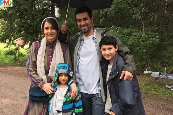 شبنم قربانی و شهاب حسینی در فیلم کویر امروز