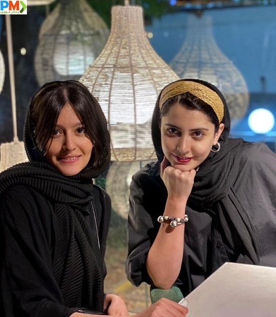 شبنم قربانی و پردیس احمدی