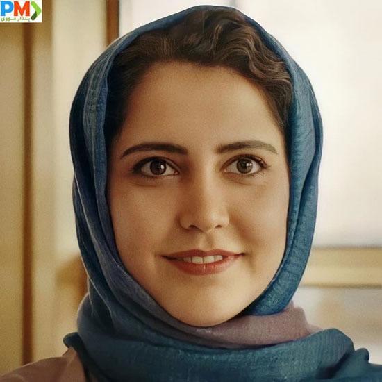 شبنم قربانی بازیگر نقش سارا در سریال ملکه گدایان
