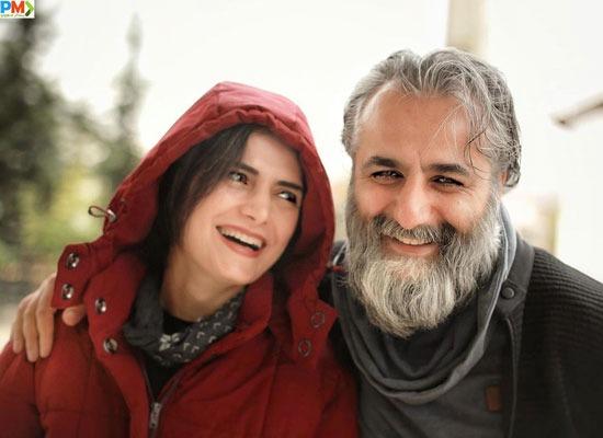همسر سابق شهرام شکیبا و همسرش (خانم مهسا ملک مرزبان)