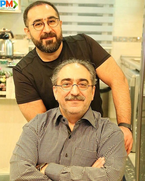 شهرام شکیبا و برادرش شهاب شکیبا