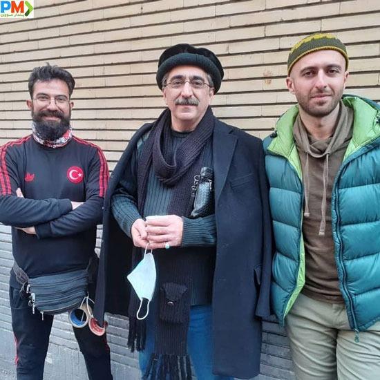 شهرام شکیبا در سریال باخانمان