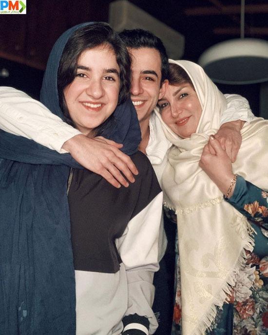 علی شادمان و خواهرش و مادرش