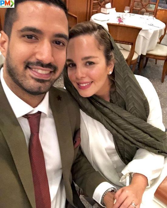عرفان ناصری و همسرش