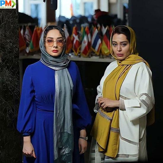 سانیا سالاری و هانیه توسلی در سریال گیسو