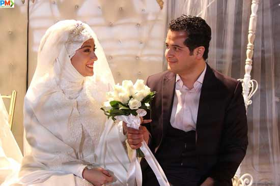 مهروز ناصرشریف و همسرش