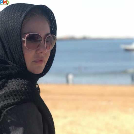 رزیتا غفاری بی حجاب