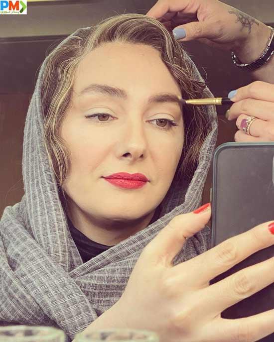 هانیه توسلی بازیگر نقش منصوره در سریال زخم کاری